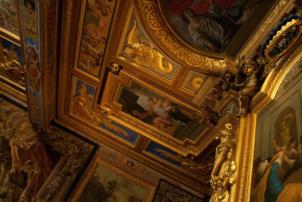 Which way's up?: At the château of Cheverny, in the Loire Valley, France. Cheverny was often the second-best to Chenonceaux, but is still privately-owned.